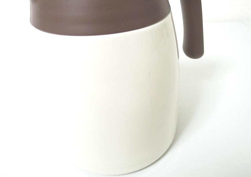 サーモス 保温ポット THV-1001 クッキークリーム