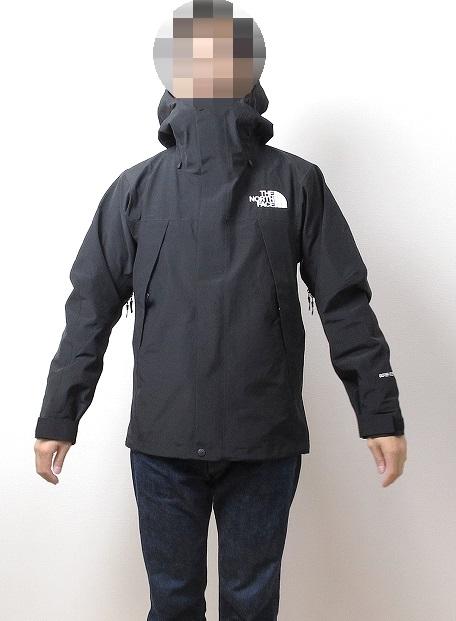 ノースフェイス マウンテンジャケットの着用画像