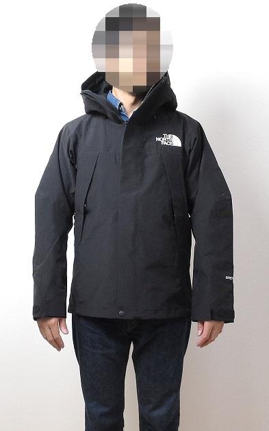 ノースフェイス マウンテンジャケットのサイズ感
