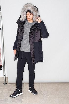 ヒムコートの着こなし例1
