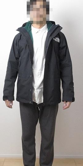 マウンテンライトジャケットに『バーサミッドジャケット』をジップインジップ