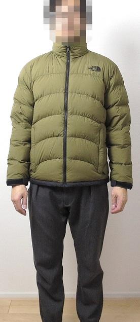 アコンカグアジャケットのサイズ感