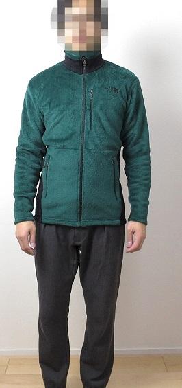 バーサミッドジャケットのサイズ感