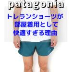 パタゴニア トレランショーツ