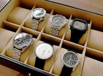 10本の時計を収納できるウォッチケース