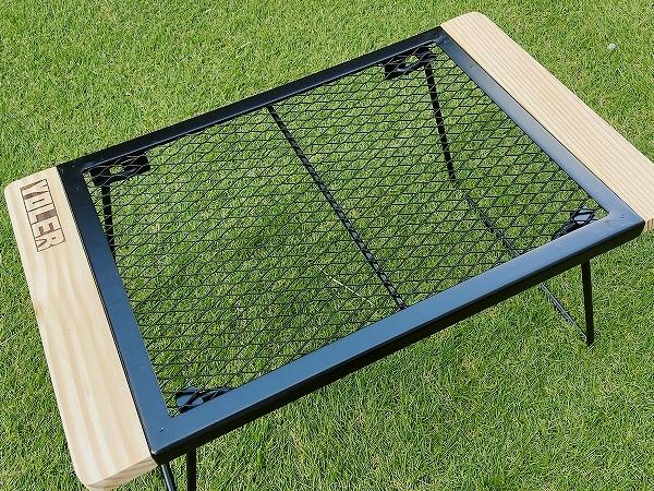 YOLER(ヨーラー)鉄製メッシュテーブル「YR-MT009UP」